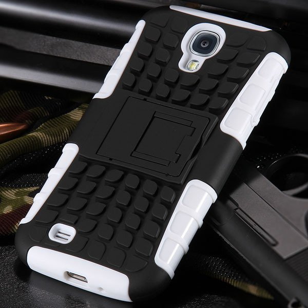 S4 Armor Heavy Duty Hard Cover Case For Samsung Galaxy S4 Siv I950 32303818869-2-white