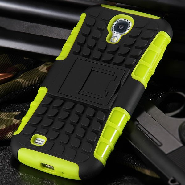 S4 Armor Heavy Duty Hard Cover Case For Samsung Galaxy S4 Siv I950 32303818869-6-yellow