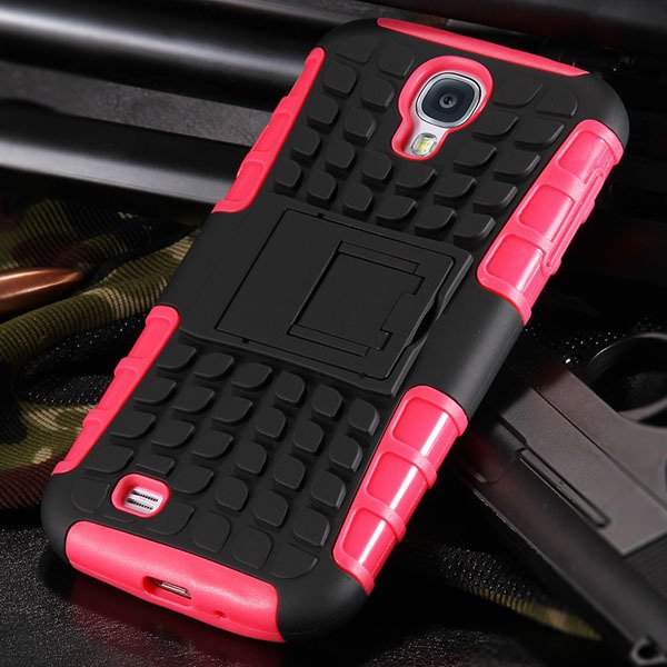 S4 Armor Heavy Duty Hard Cover Case For Samsung Galaxy S4 Siv I950 32303818869-8-pink