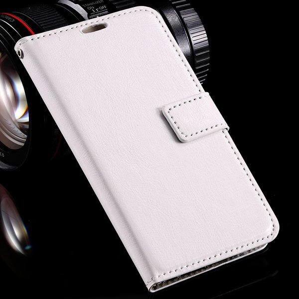 S6 Leather Case Flip Wallet Cover For Samsung Galaxy S6 G9200 Pu L 32294795016-2-white