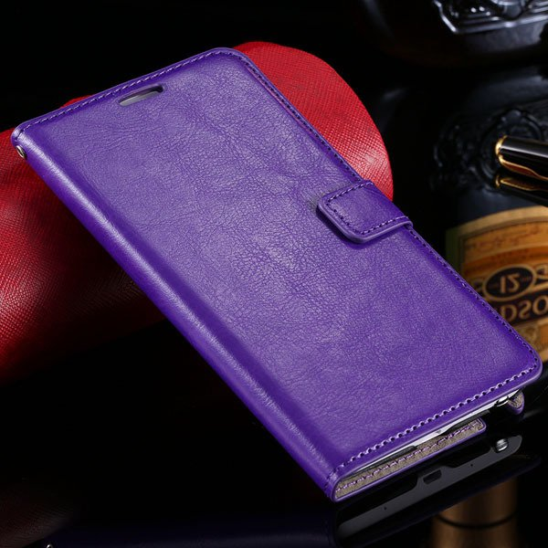 Note Edge Luxury Pu Leather Case Vintage Flip Wallet Book Cover Fo 32283419615-6-purple