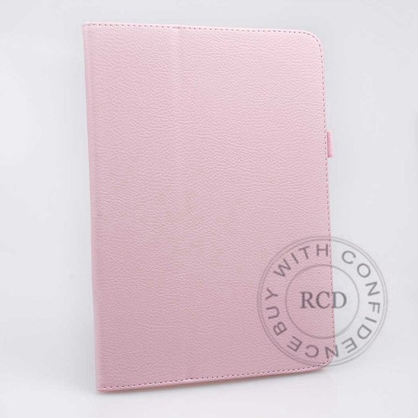 For Samsung Tab 3 Pu Leather Case Flip Wallet Cover Full Body Prot 1138274905-8-Pink