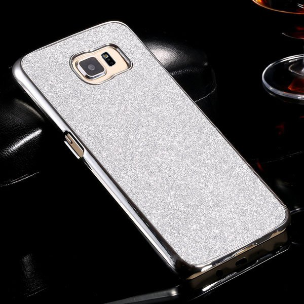 S6 Plating Bling Case Hard Pc+Aluminum Cover For Samsung Galaxy S6 32305604746-4-silver