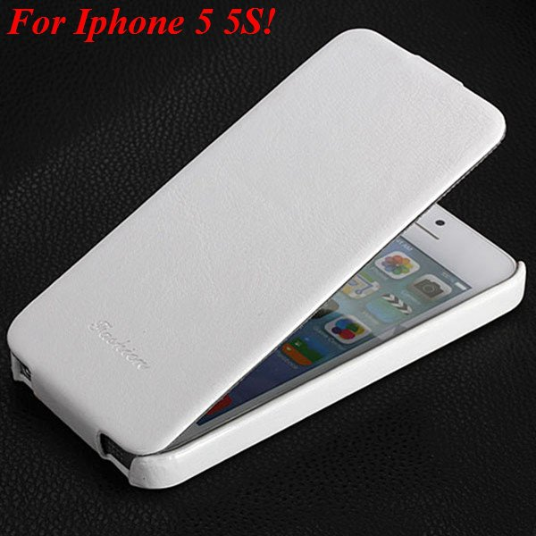 5S Pu Leather Cover Original Flip Case For Iphone 5 5S 5G Full Pro 1273814999-2-white for 5s
