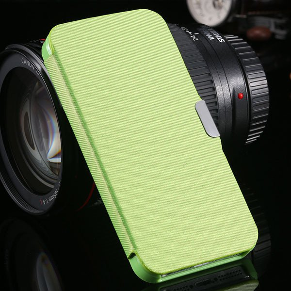 5S Magnetic Wallet Book Case Flip Pu Leather Cover For Iphone 5 5S 1057199030-4-green