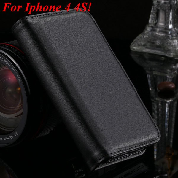 4S 5S Plain Weave Wallet Case For Iphone 5 5S 5G 4 4S 4G Functiona 1881065788-1-black for 4S