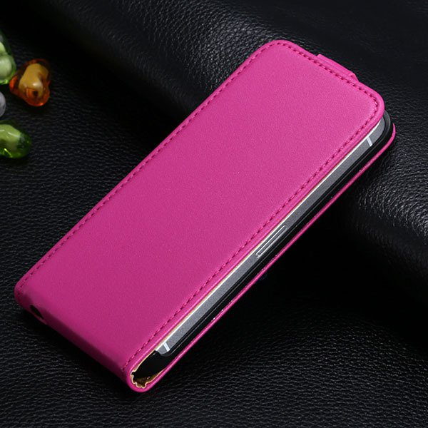 5S Flip Genuine Leather Case For Iphone 5 5S 5G Full Protective Sk 1793744595-8-hot pink