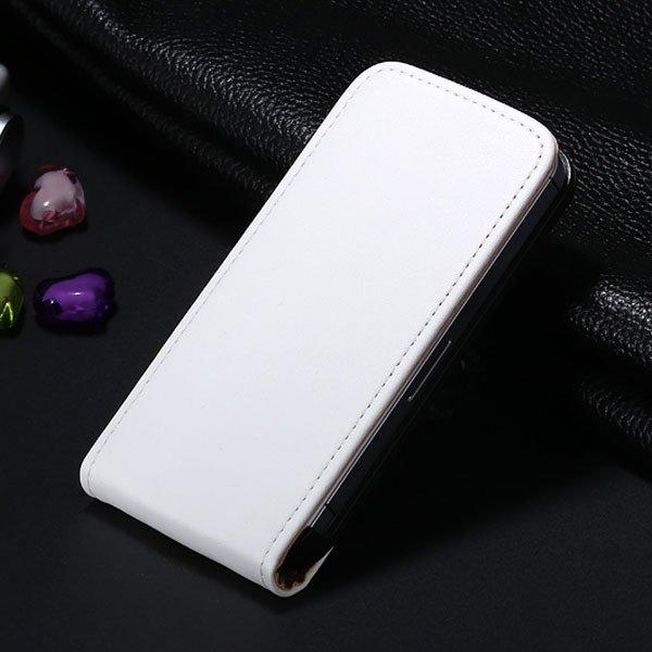 5C Genuine Leather Flip Case For Iphone 5C Vertical Full Phone Cov 1793633528-8-white