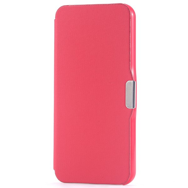 Ultra Thin Slim Pu Leather Full Case For Iphone 5C Cover With Magn 32240335248-3-red