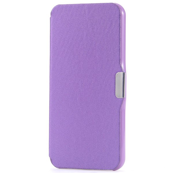 Ultra Thin Slim Pu Leather Full Case For Iphone 5C Cover With Magn 32240335248-6-purple