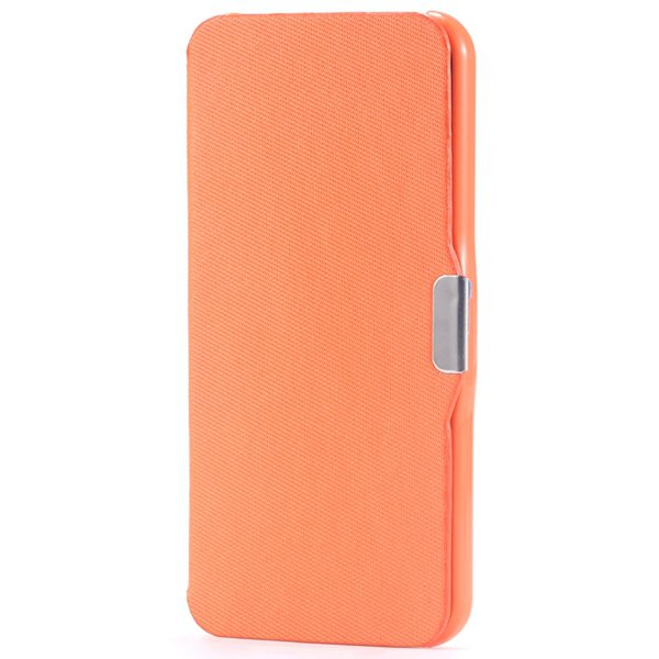 Ultra Thin Slim Pu Leather Full Case For Iphone 5C Cover With Magn 32240335248-8-orange