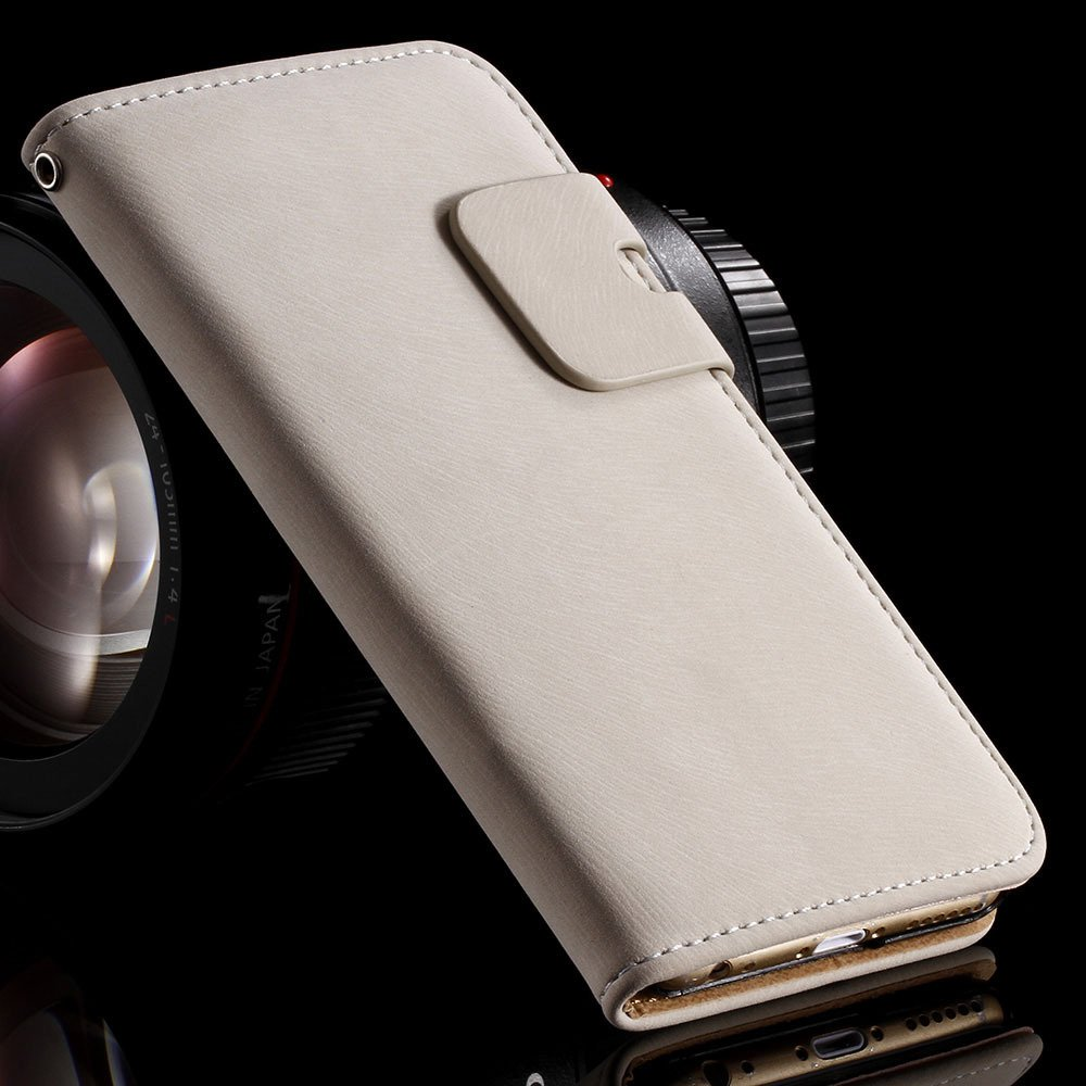 5S Pu Leather Case Flip Cover For Iphone 5 5S 5G Full Protect Phon 32251645829-2-white