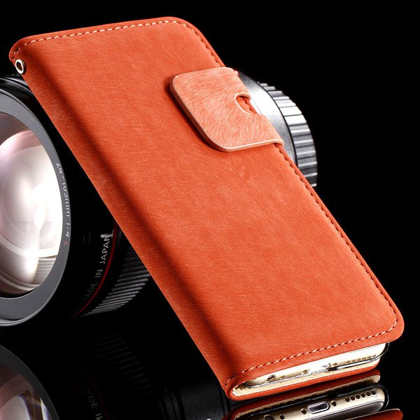 5S Pu Leather Case Flip Cover For Iphone 5 5S 5G Full Protect Phon 32251645829-3-red