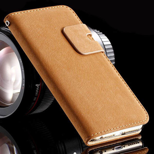 5S Pu Leather Case Flip Cover For Iphone 5 5S 5G Full Protect Phon 32251645829-4-brown