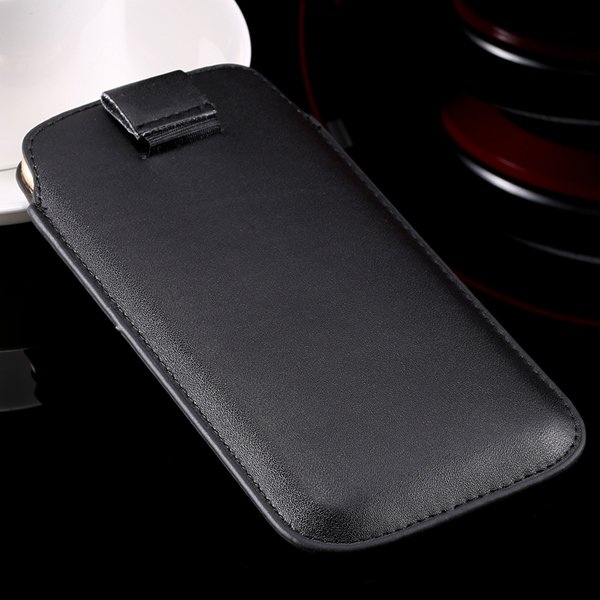 5S Universal Phone Case For Iphone 5 5S 5G 4 4S 4G Pu Leather Cove 32268093589-1-black