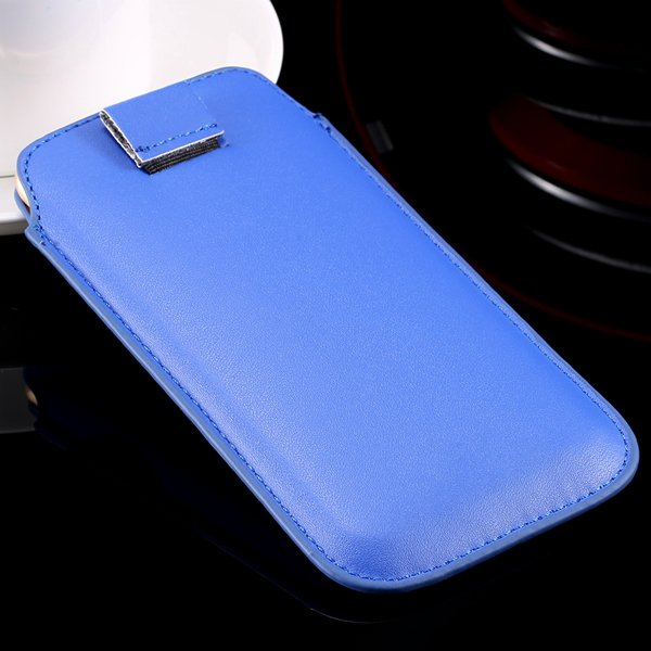 5S Universal Phone Case For Iphone 5 5S 5G 4 4S 4G Pu Leather Cove 32268093589-4-blue