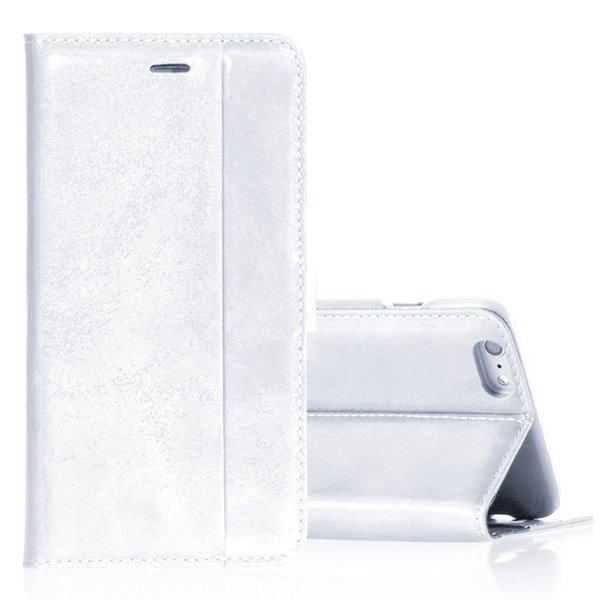 5S Flip Leather Case Original Real Leather Cover For Iphone 5 5S 5 32271077936-2-white