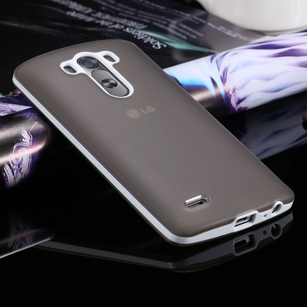 G3 Soft Tpu Combo Case For Lg G3 Cover For D858 D859 Plastic Back  2024340846-10-gray