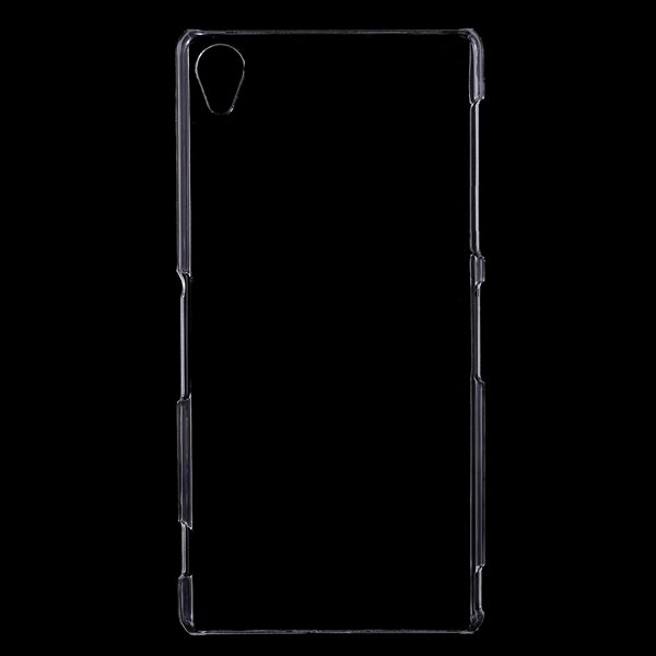Z3 Clear Case Fully Transparent Capa Plastic Back Cover For Sony X 32288851315-1-clear