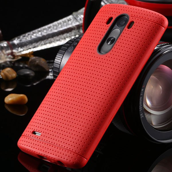 G3 Silicone Case For Lg G3 D858 D859 Fresh Color Back Cover Frame  2001477811-3-red