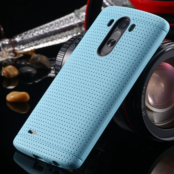 G3 Silicone Case For Lg G3 D858 D859 Fresh Color Back Cover Frame  2001477811-5-sky blue