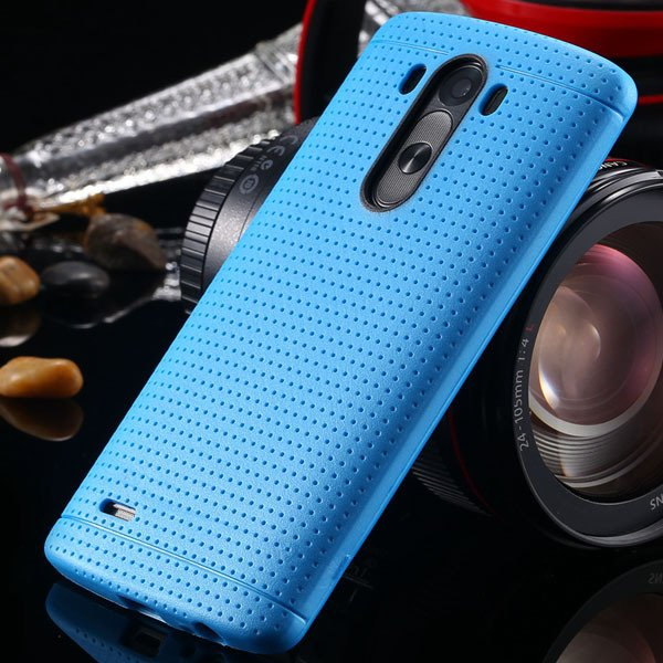 G3 Silicone Case For Lg G3 D858 D859 Fresh Color Back Cover Frame  2001477811-6-light blue