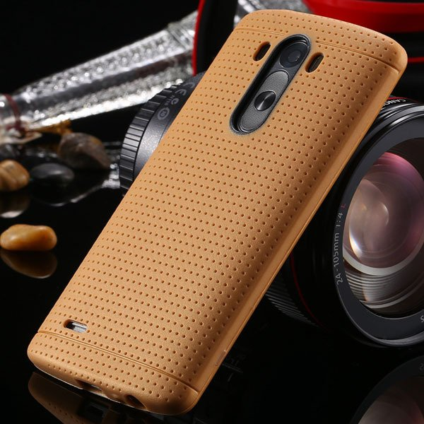 G3 Silicone Case For Lg G3 D858 D859 Fresh Color Back Cover Frame  2001477811-8-light  brown