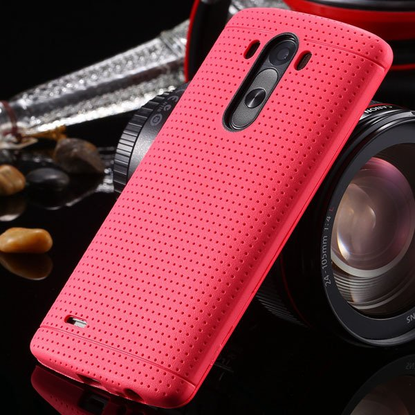 G3 Silicone Case For Lg G3 D858 D859 Fresh Color Back Cover Frame  2001477811-9-hot pink