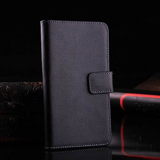 M7 Leather Case For Htc One M7 Luxury Flip Cover With Stand Holder 1335998906-1-Black