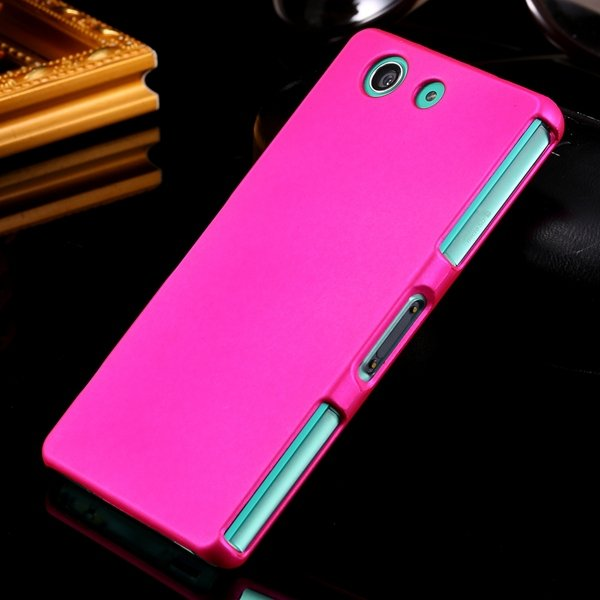 Z3 Mini Hard Case Ultra Slim Mat Lubricating Smooth Cover For Sony 32281411985-5-rose