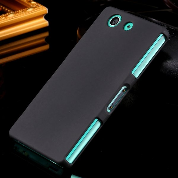 Z3 Mini Back Case Ultra Thin Matte Frosted Hard Cover For Sony Xpe 32282256515-1-black