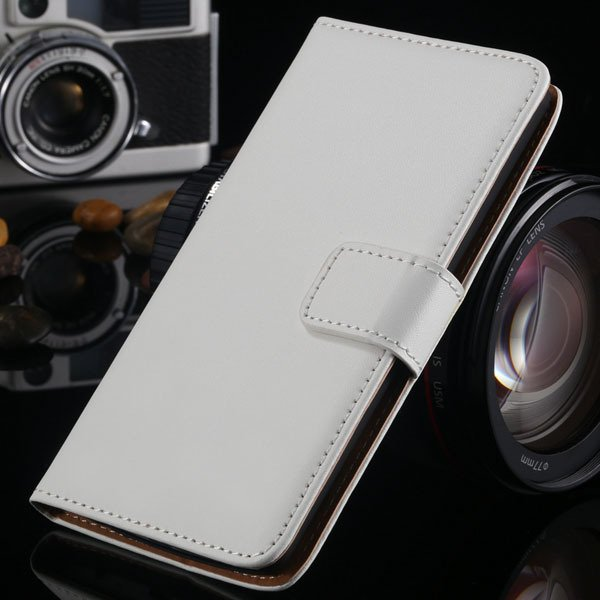 Luxury Genuine Leather Case For Lg Optimus G3 D830 D850 D831 Flip  1993890390-2-white