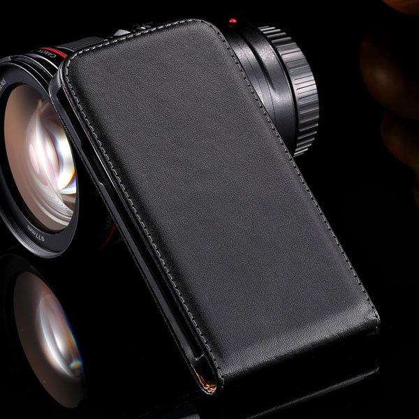 Vertical Flip Genuine Leather Case For Htc One X S720E G23 Full Ca 32240119322-1-black