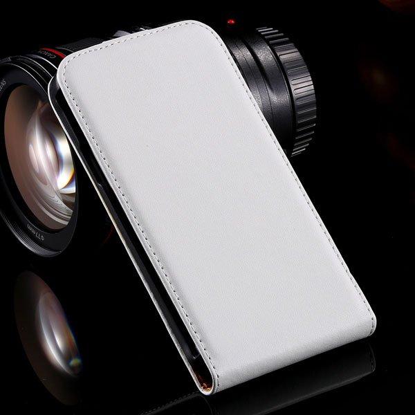 Vertical Flip Genuine Leather Case For Htc One X S720E G23 Full Ca 32240119322-2-white