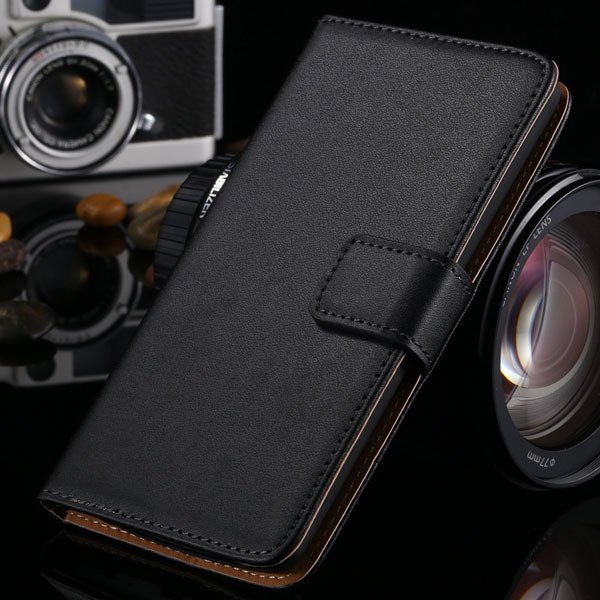 Classic Genuine Leather Case For Lg G3 D830 D850 D831 Optimus Flip 1993893512-1-black