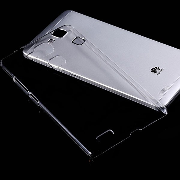 For Huawei Mate 7 Clear Case 100% Full Transparent Capa Hard Plast 32287384519-1-clear