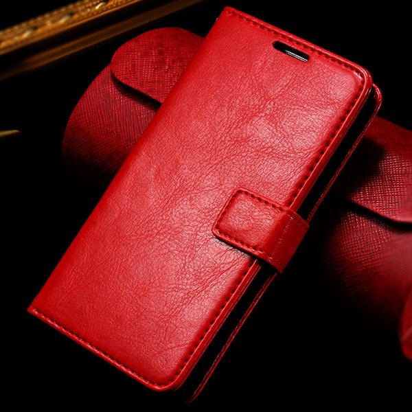 G2 Wallet Leather Case Card Insert Flip Pu Cover For Lg Optimus G2 32282718789-3-red