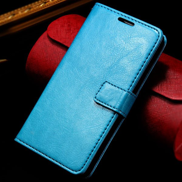 G2 Wallet Leather Case Card Insert Flip Pu Cover For Lg Optimus G2 32282718789-4-blue