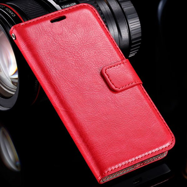 N630 Premium Pu Leather Case Full Wallet Cover For Nokia Lumia 630 32283543434-3-red