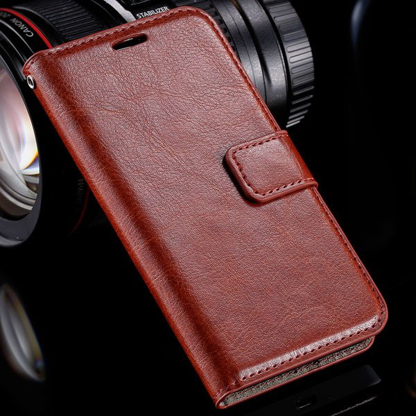 N630 Premium Pu Leather Case Full Wallet Cover For Nokia Lumia 630 32283543434-5-brown