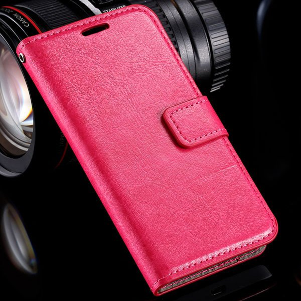 N630 Premium Pu Leather Case Full Wallet Cover For Nokia Lumia 630 32283543434-6-rose