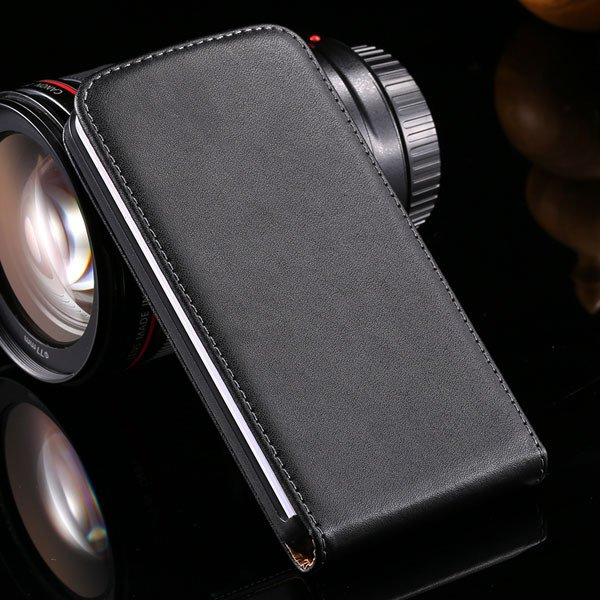 G2 Luxury Real Leather Case Vertical Flip Cover For Lg Optimus G2  32288862828-1-black