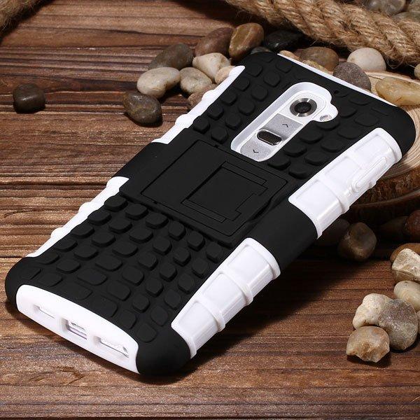 G2 Armor Case Heavy Duty Hybrid Cover For Lg G2 Optimus D802 D801  32274018481-1-white