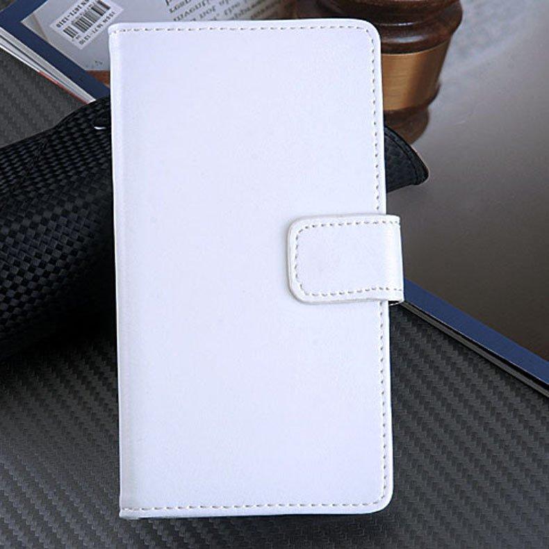 Genuine Leather Case For Sony Ericsson Xperia Z L36H Flip Cover Wi 32264415085-2-white