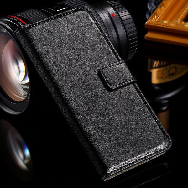 M7 Flip Case Stand Pu Leather Cover For Htc One M7 Full Protect Wi 32240295329-1-black