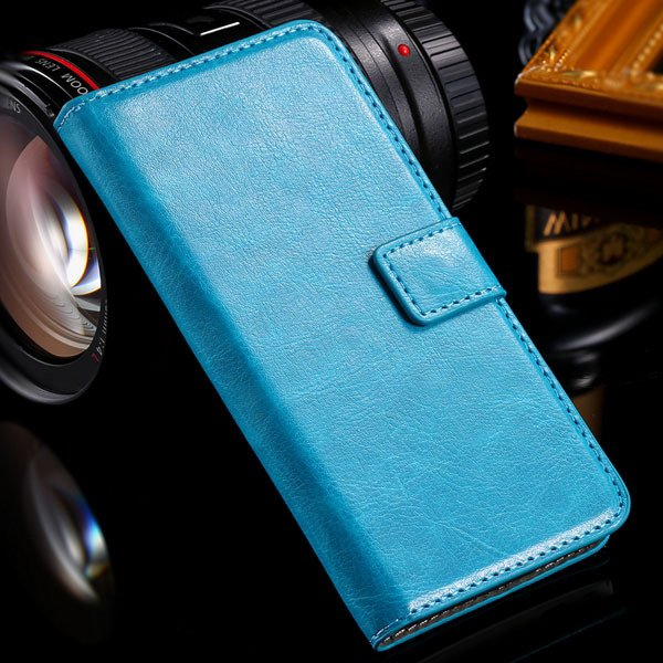 M7 Flip Case Stand Pu Leather Cover For Htc One M7 Full Protect Wi 32240295329-3-mint green