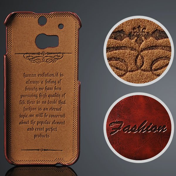 M8 Luxury Pu Leather Case Card Insert Back Cover For Htc One M8 Sl 32237276794-1-brown