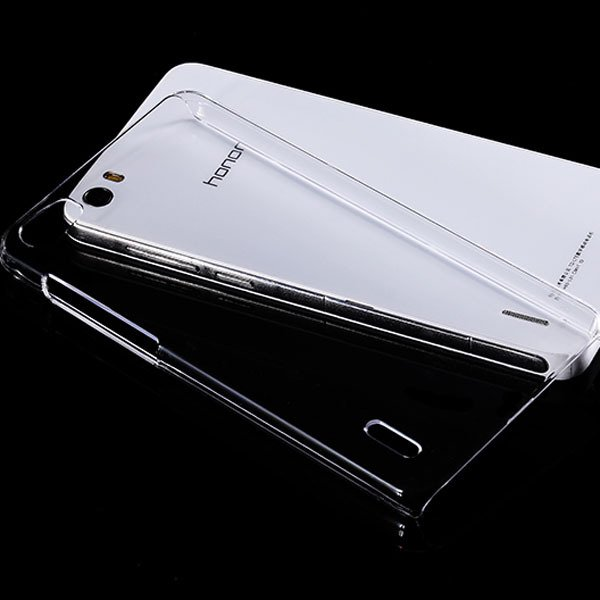 For Huawei Honor 6 Clear Case 100% Highly Transparent Hard Plastic 32287384105-1-clear