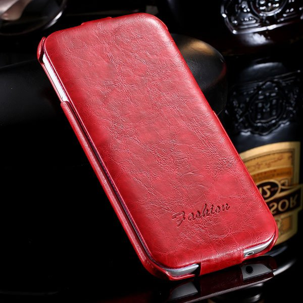 M8 Flip Case Full Protective Cover For Htc One M8 Premium Luxury P 32270427021-2-red