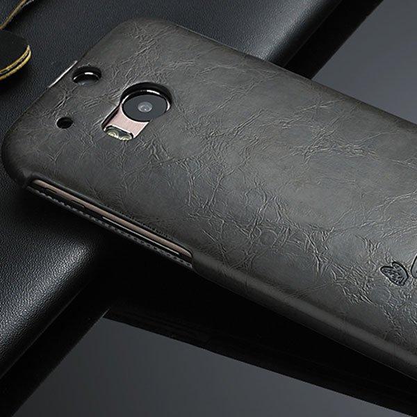 M8 Flip Case Full Protective Cover For Htc One M8 Premium Luxury P 32270427021-4-black